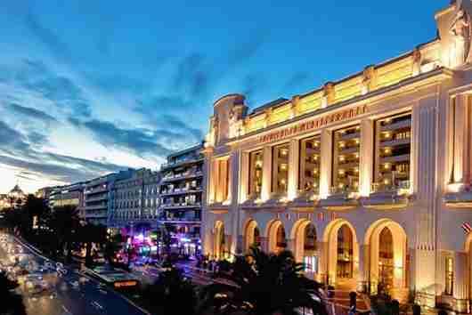 The Hyatt Regency Nice Palais de La Mediterranée.