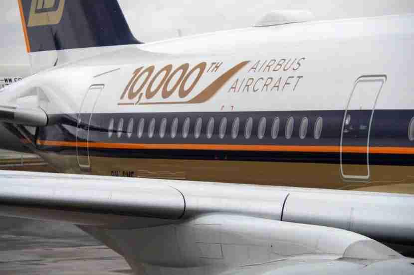Airbus 10000 Singapore Air A350