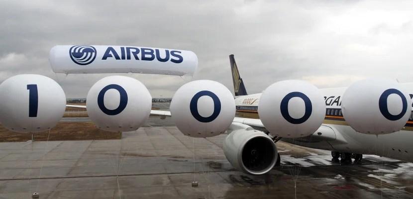 Resultado de imagen para Airbus delivery nº 10.000 logo
