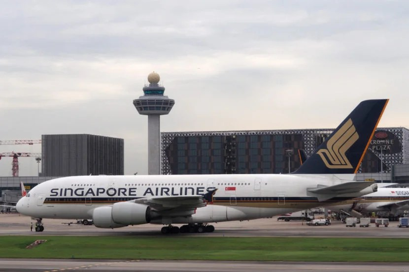 Singapore A350 Delivery Flight