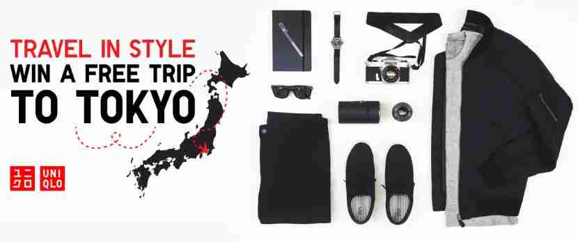 Enter to win a trip to Japan with Uniqlo.