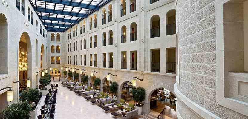Put all those Hilton free night certificates to use at a property like the Waldorf Astoria Jerusalem.