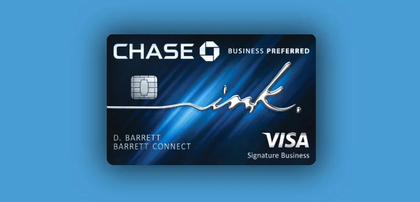 Chase introduces the ink business preferred card reheart
