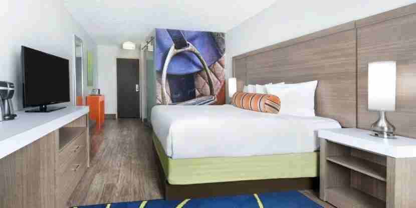Hotel Indigo Cleveland-Beachwood. Image courtesy of the hotel.