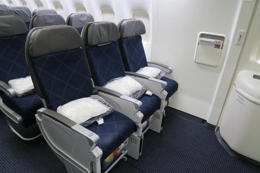 The exit row 26 is another good choice for legroom.