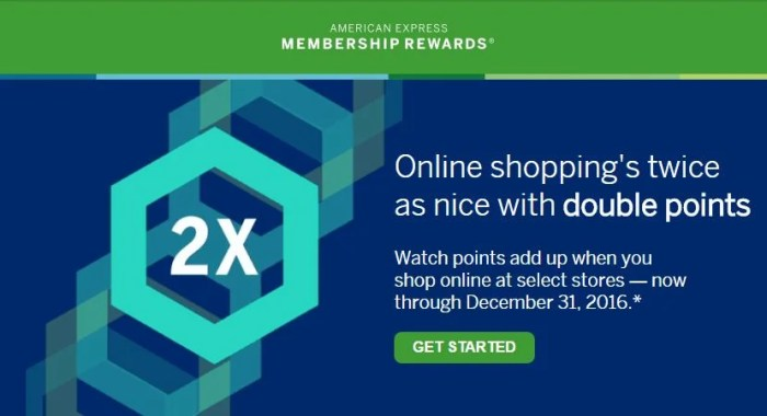 Earn 2X Membership Rewards at these retailers through the end of the year.