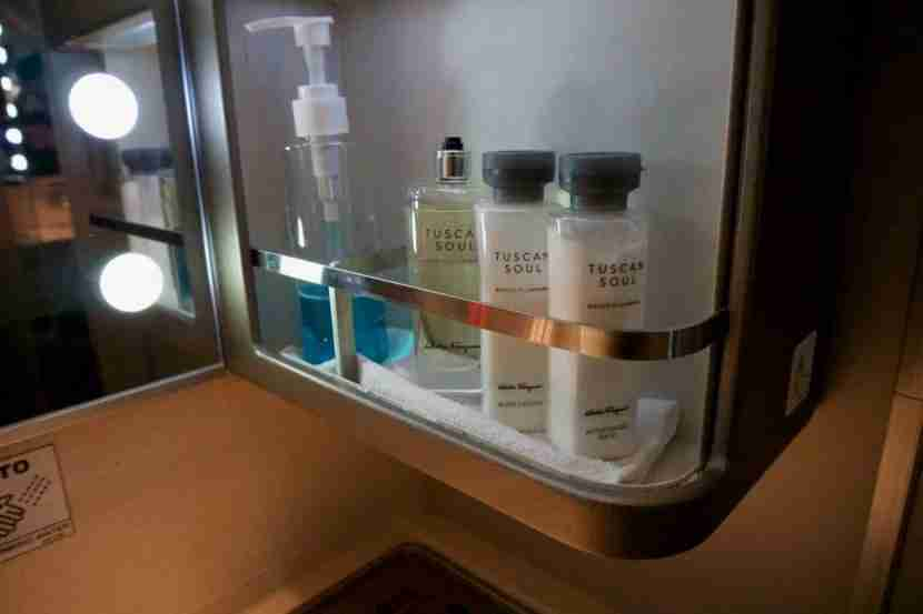 High-end products in the lavatory