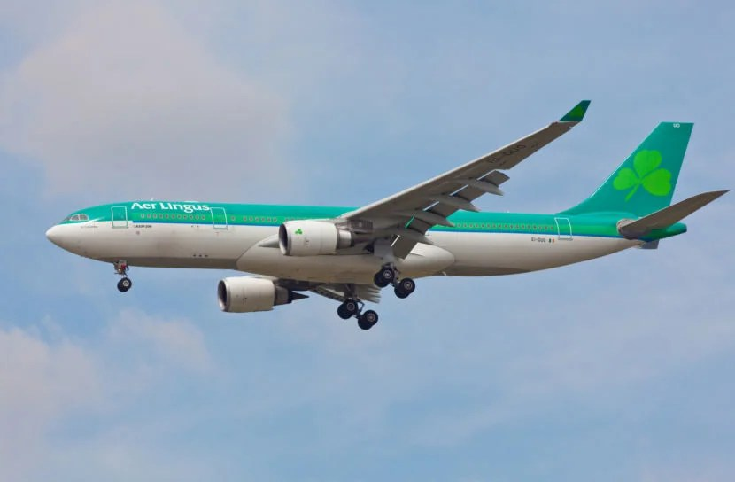 Aer Lingus will operate an A330 on its new Miami to Dublin route. <em>Image courtesy of Getty Images.</em>