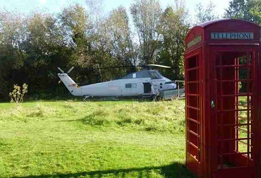 The Holicopter at Blackberry Wood. Image courtesy of Blackberry Wood.