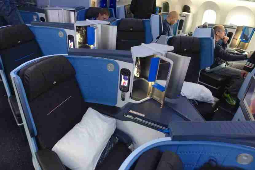 There are just 30 seats total in business class.