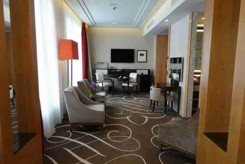 A shot of the suite in the other direction.