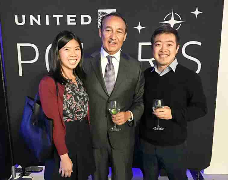I had the opportunity to chat with United CEO Oscar Munoz at the Polaris event about the upcoming product.