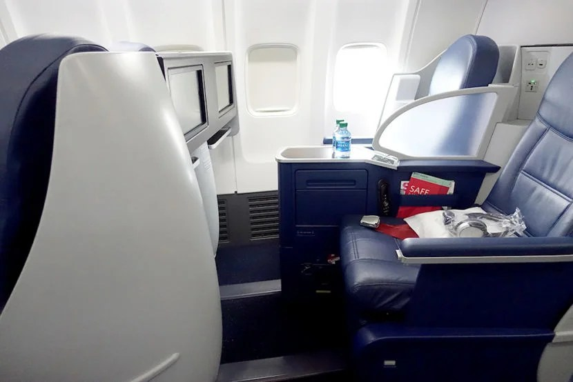 Review Delta First Class 757 200 Seattle To New York
