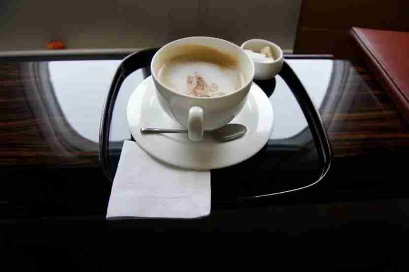 Rise and shine with a cappuccino over Southeast Asia