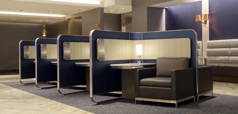 Review united polaris lounge chicago o 39 hare - In december o grijze lounge ...
