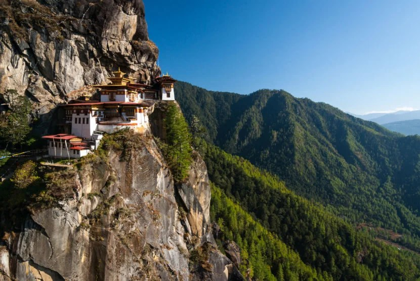 Bhutan is one of the world's last undiscovered corners. Image courtesy of Getty Images.
