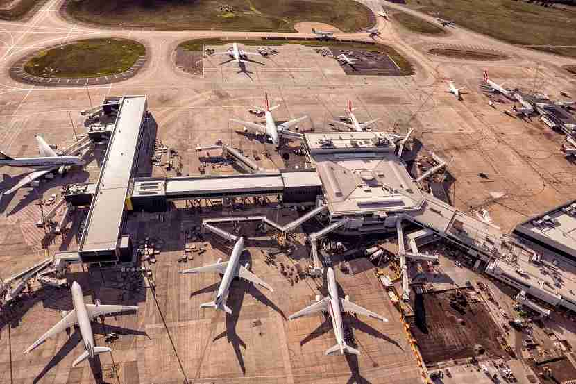 The International Terminal at Melbourne Airport. Image courtesy of Melbourne Airport.