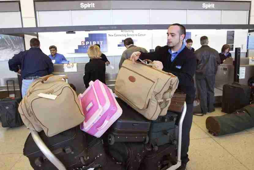 Spirit Airlines is piling on the bag fees. Image courtesy of Tim Boyle of Getty Images.