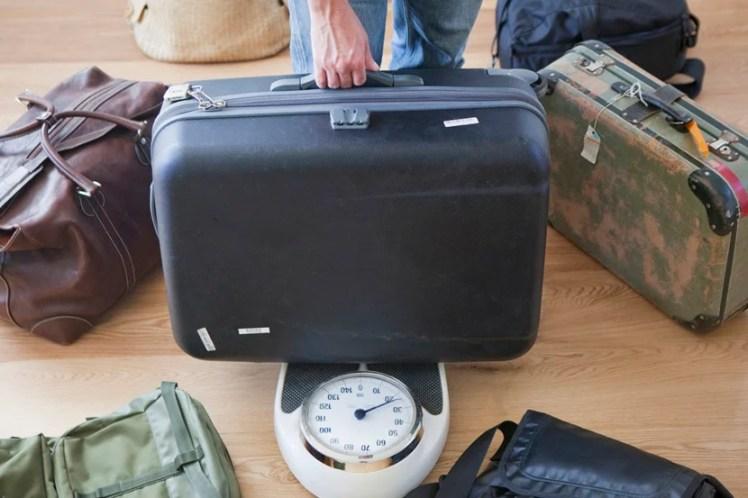 Hasil gambar untuk weigh suitcase