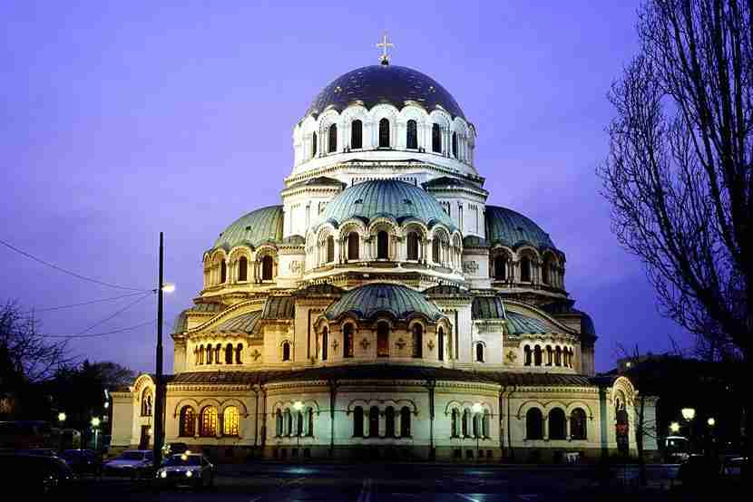 The majestic Alexander Nevski Cathedral in Sofia, Bulgaria. Image courtesy of Ullstein Bild via Getty Images.