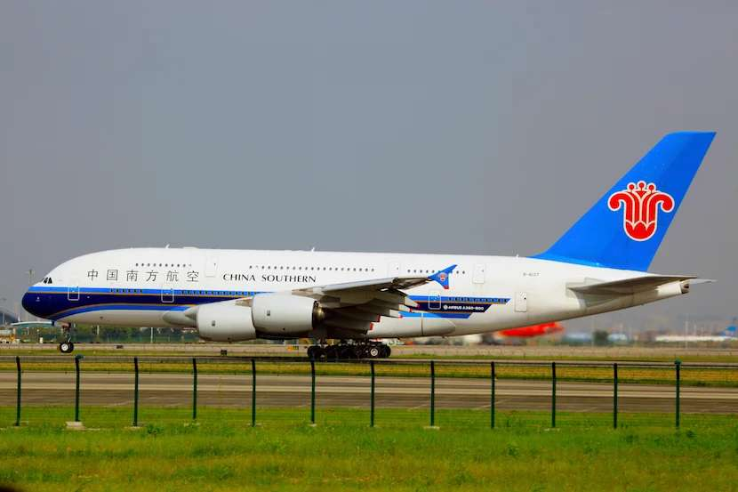 I wouldn't mind trying China Southern's A380. Image courtesy of Wikipedia.