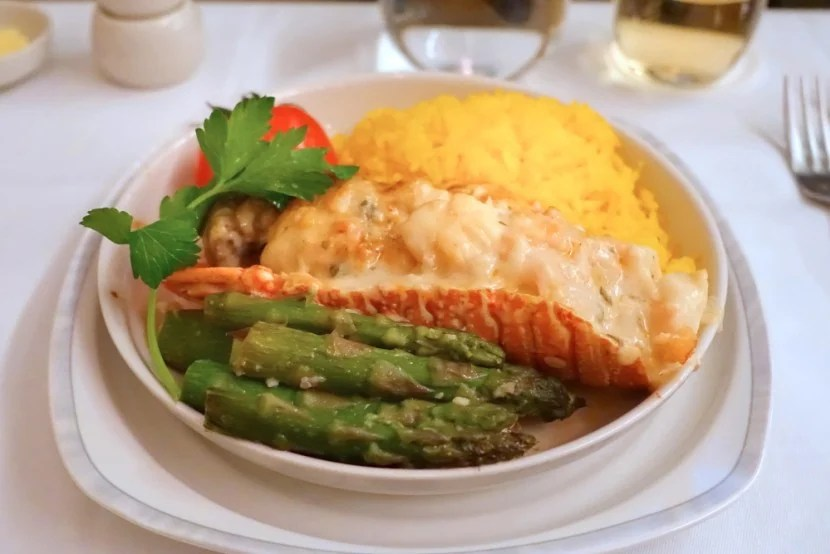 Singapore's menus are crowd-pleasers thanks to signature dishes like lobster thermidor.