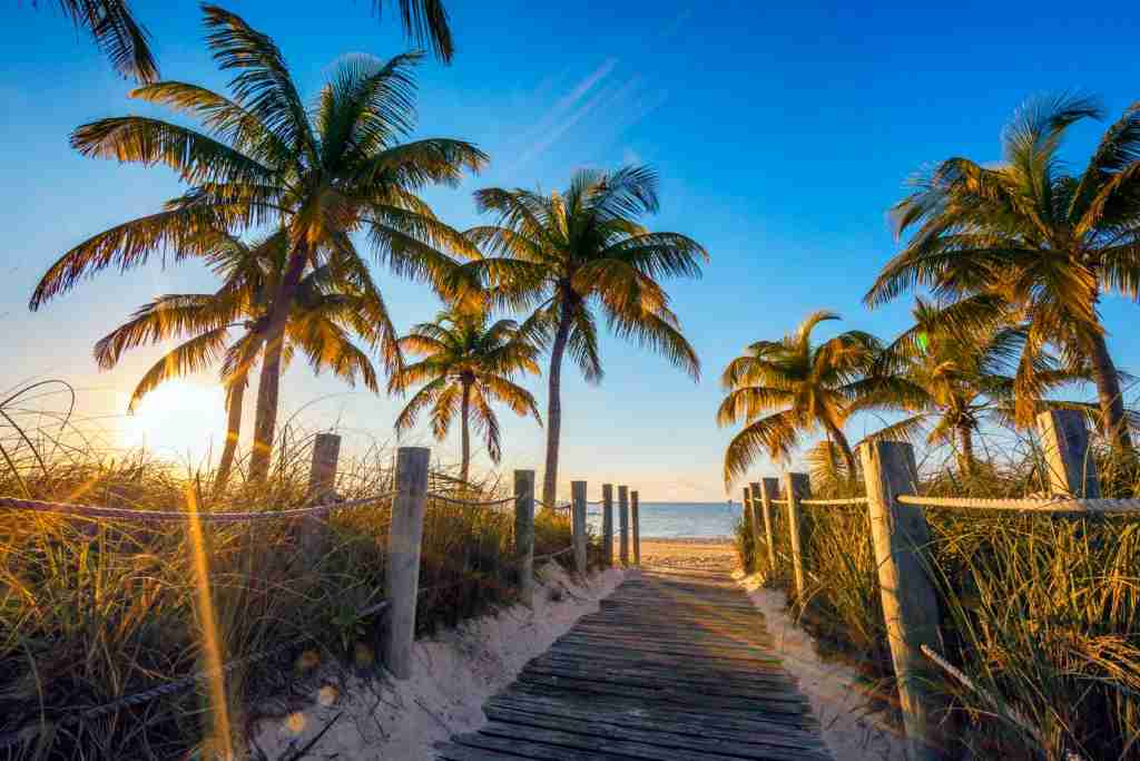 United commenced seasonal service from Chicago to Key West this month. Image courtesy of Getty Images.
