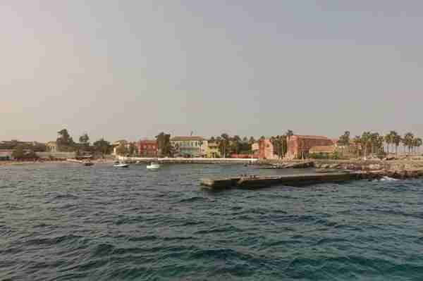 Having a guide to explain the history of Île de Gorée in English was really helpful. Image by the author.