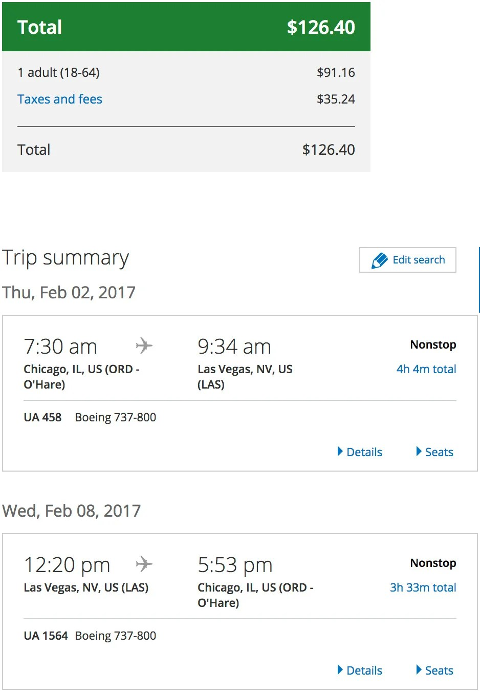 deal chicago and nyc to las vegas from 127 round trip rh thepointsguy com flights chicago to las vegas today flights chicago to las vegas september 7 2018