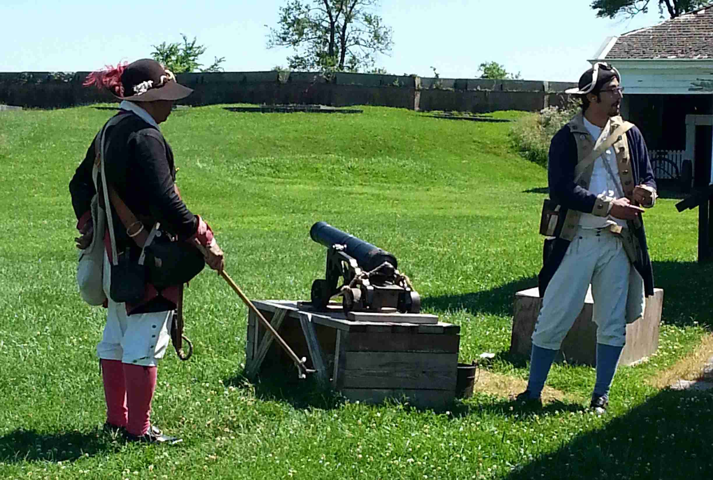 Image courtesy of Fort Mifflin on the Delaware.