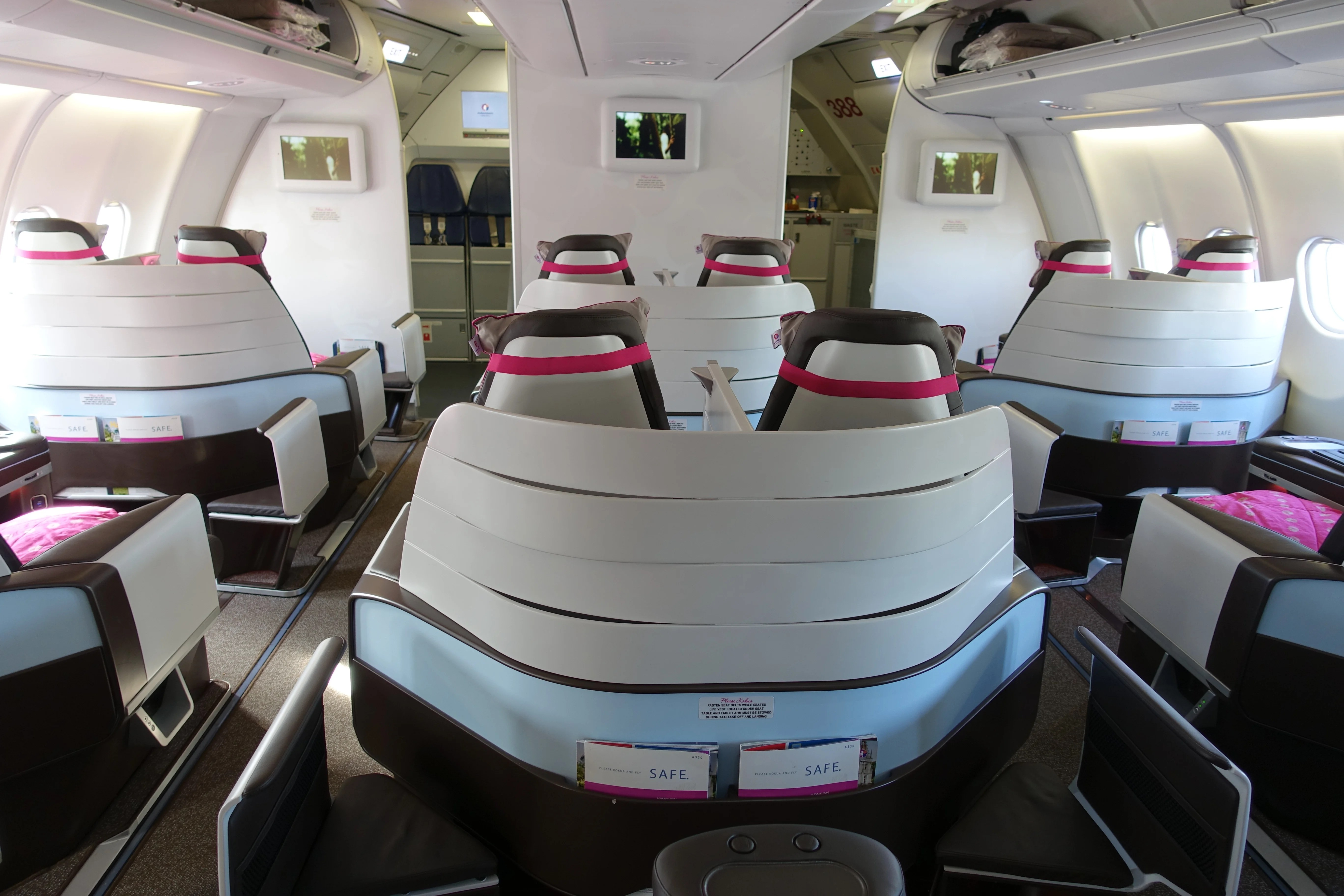 Review Hawaiian Airlines A330 First Class From Jfk To Hnl