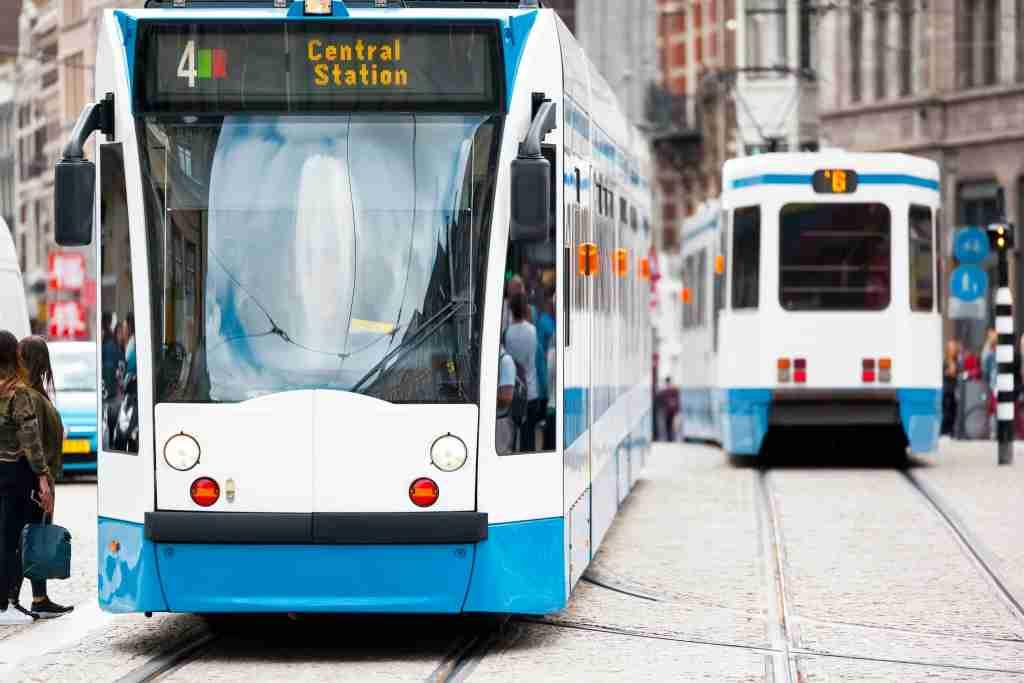 An image of a tram in Amsterdam Markus Gann / Eyeem via Getty Images.