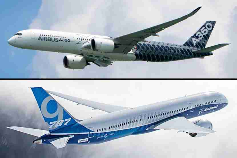 The differences in Airbus and Boeing