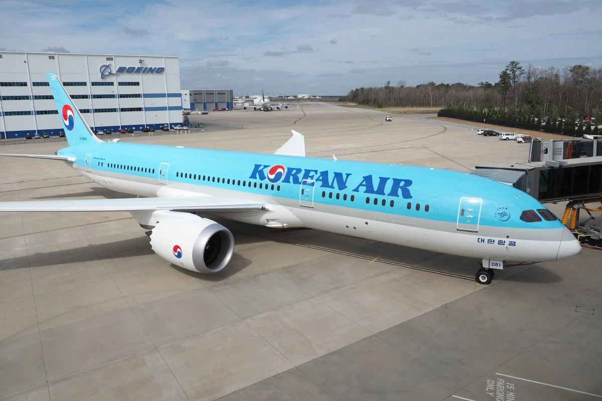 Korean Air S 787 9 Has The Same Seat In Business And First