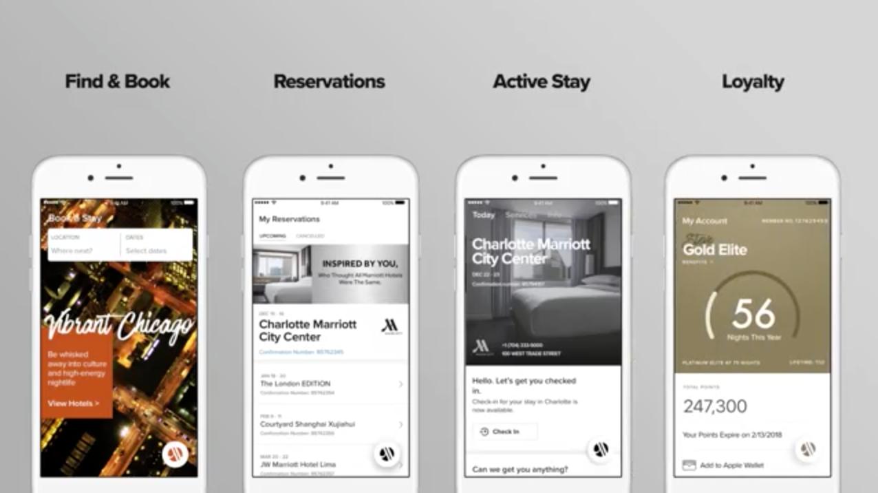 Marriott Room Service App Room Service