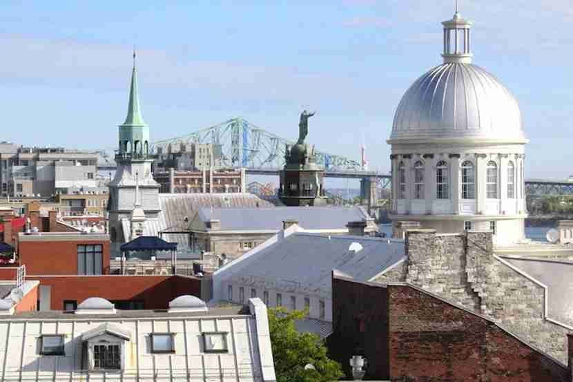 Montreal celebrates its 375th anniversary with civic and cultural events all year. Image by the author.