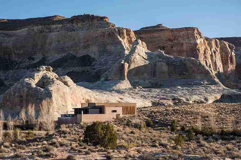Amangiri Resort in Utah. Image courtesy Aman Resorts.