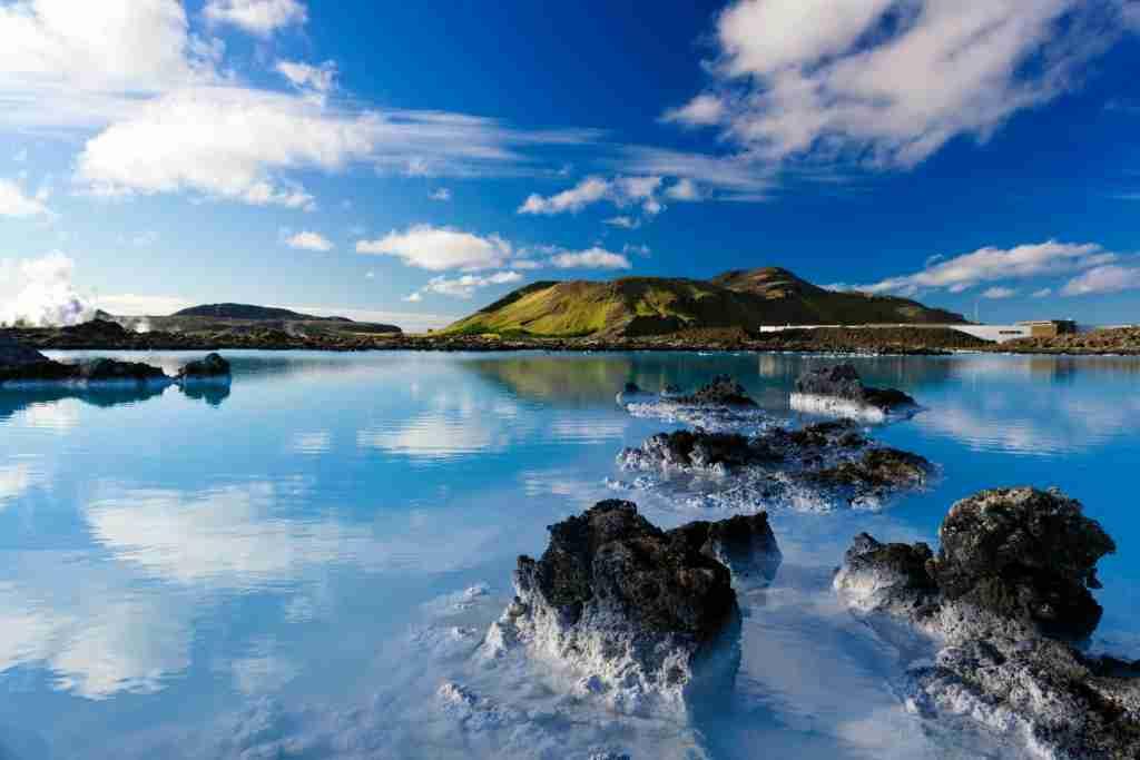 Blue Lagoon - shot with tilt and shift lens