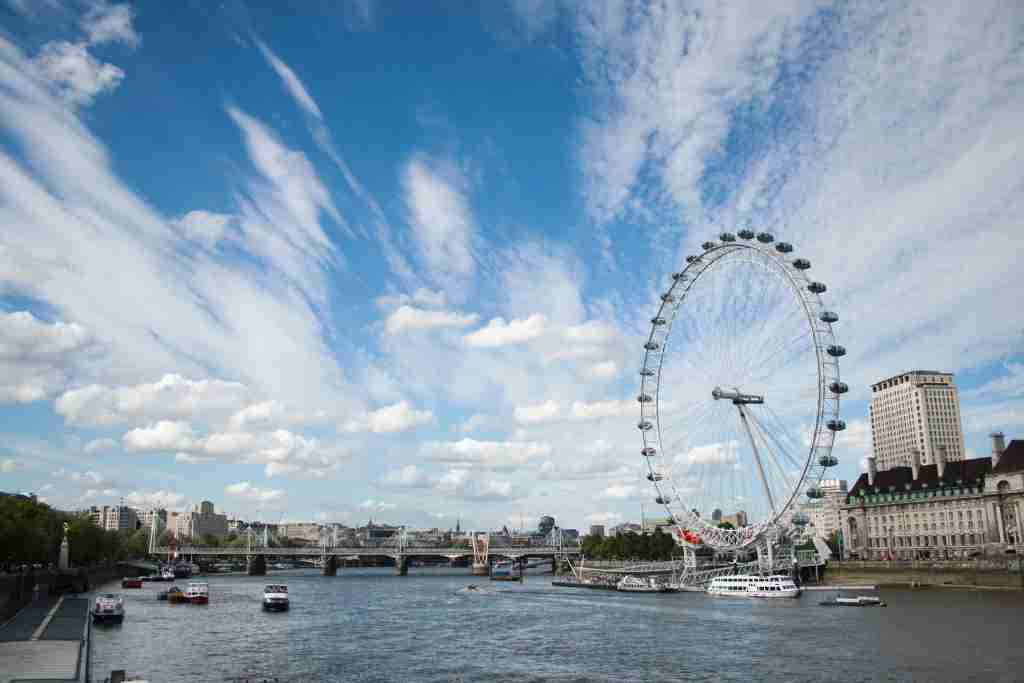 Image of the London Eye courtesy of mattscutt via Getty Images.
