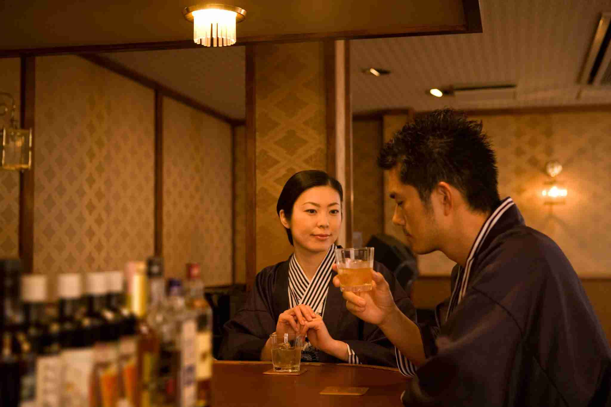 Whisky has become serious business in Japan. Image courtesy of DAJ via Getty Images.