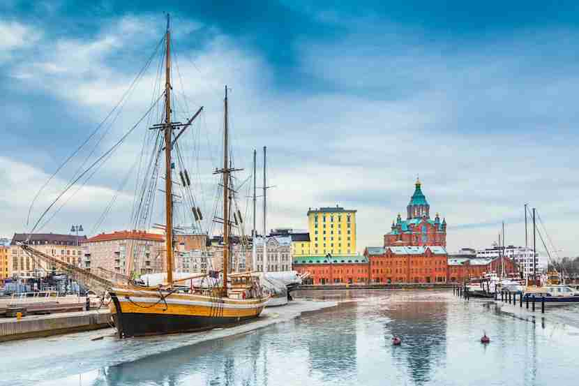 Toss away your guidebook and explore Helsinki like a local. Image courtesy of Blue Jay Photo via Getty Images.