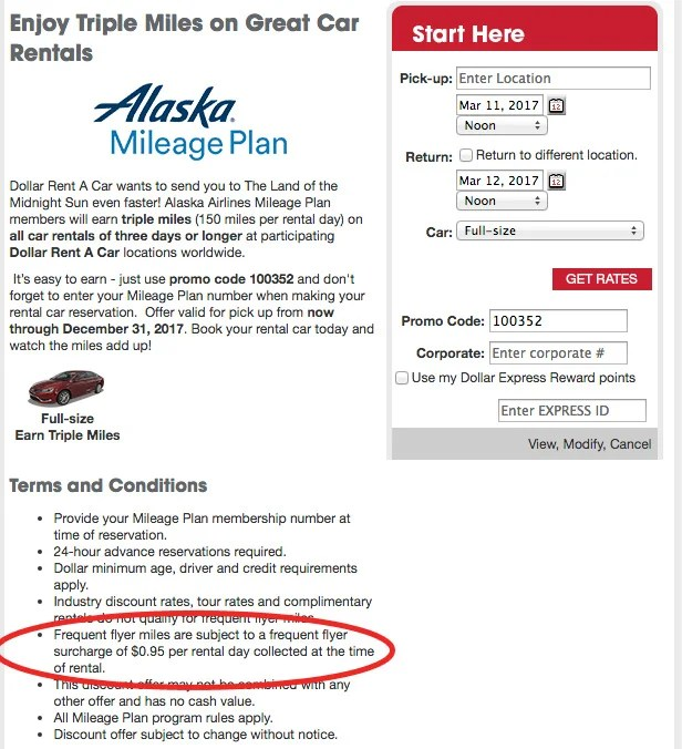 Triple A Rental >> Should You Decline The Miles You Can Earn For Renting A Car