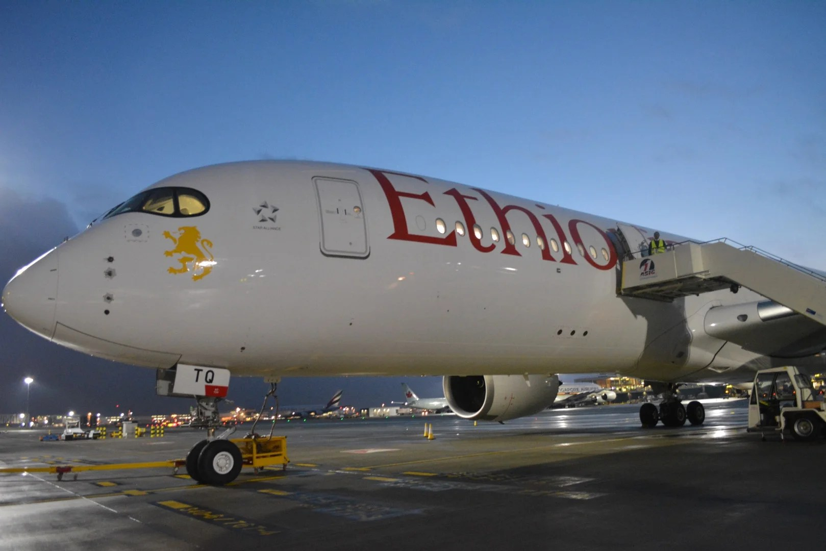 A Look Inside Ethiopian Airlines' A350-900 XWB