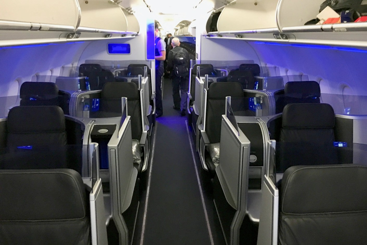 Your friends will soon be able to help get you closer to JetBlue Mint. Photo by Benji Stawski.