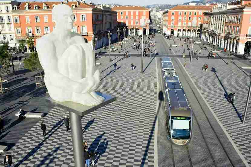 Nice tram