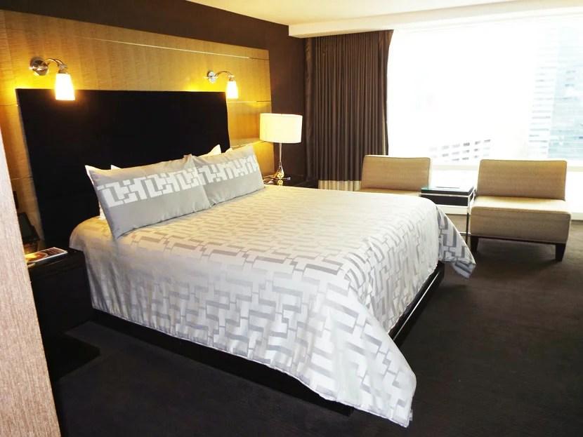 Hotel Review Deluxe Room Aria Resort Casino In Las Vegas