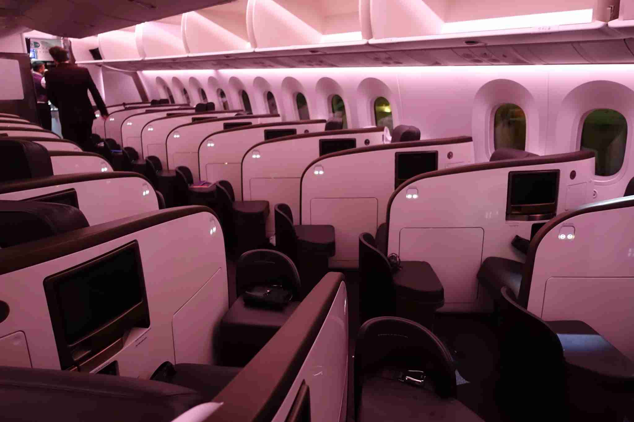 Virgin Atlantic 797-9 upper class