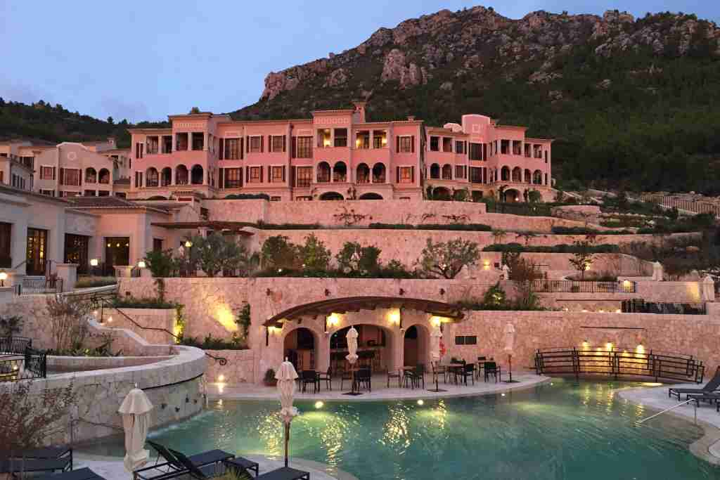 The gorgeous Park Hyatt Mallorca is one property increasing in price. Photo by the author.