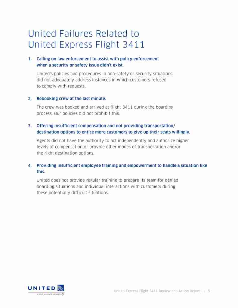 United Flight 3411 Review and Action Report-05