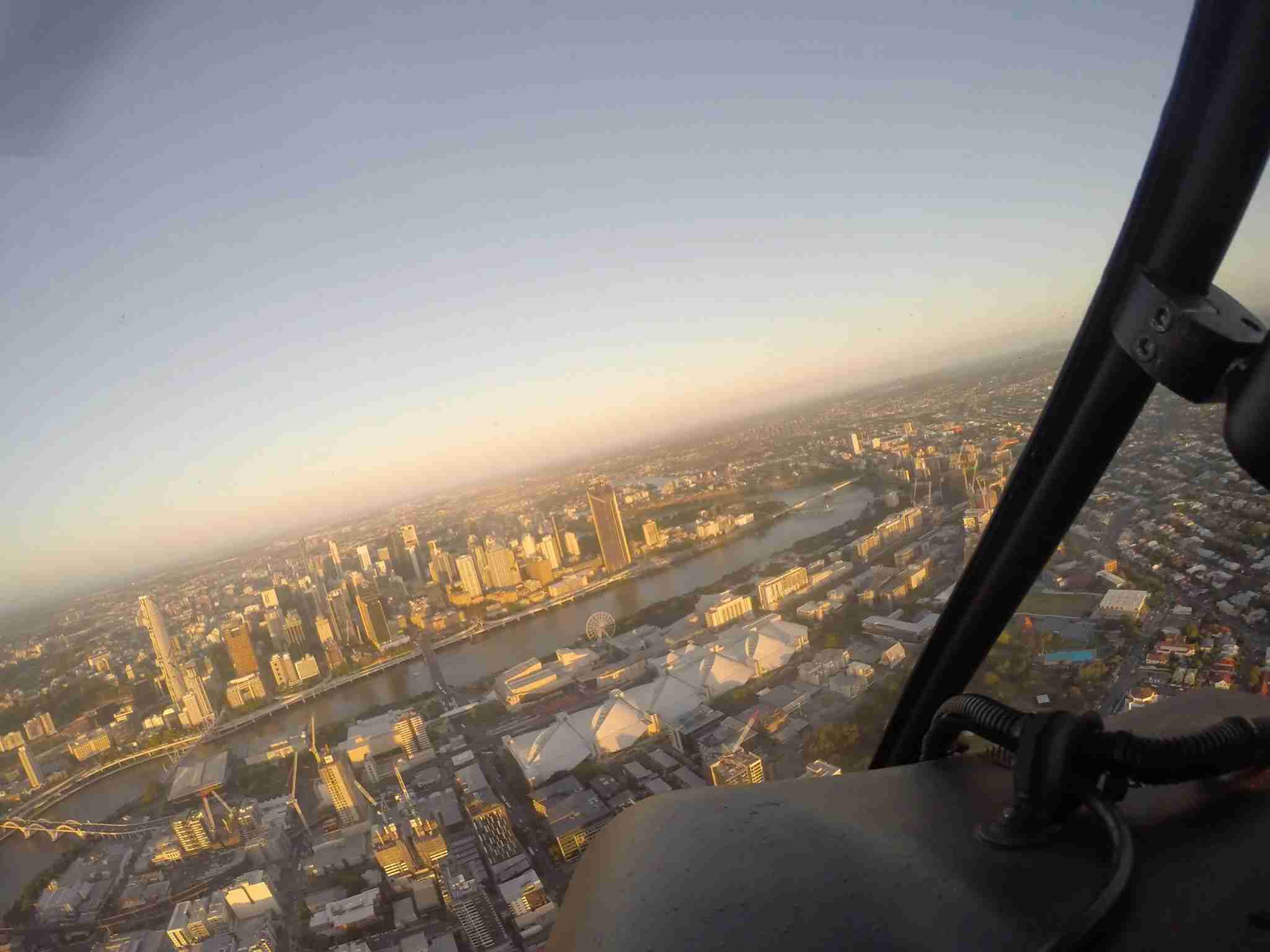 Suds with a view. Image courtesy of Pterodactyl Helicopters